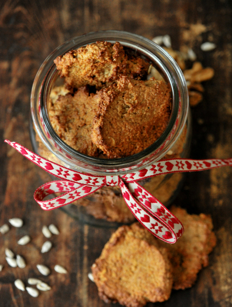 Ciastka owsiano-migdałowe
