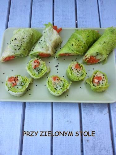 Sushi z kapusty włoskiej