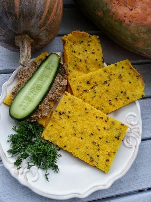 Chlebek jaglano-dyniowy