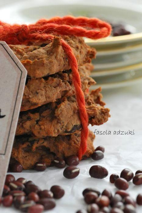 Ciasteczka z fasoli adzuki