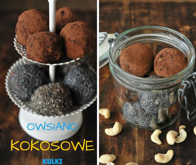 Zdrowe słodycze – owsiano-kokosowe kulki mocy