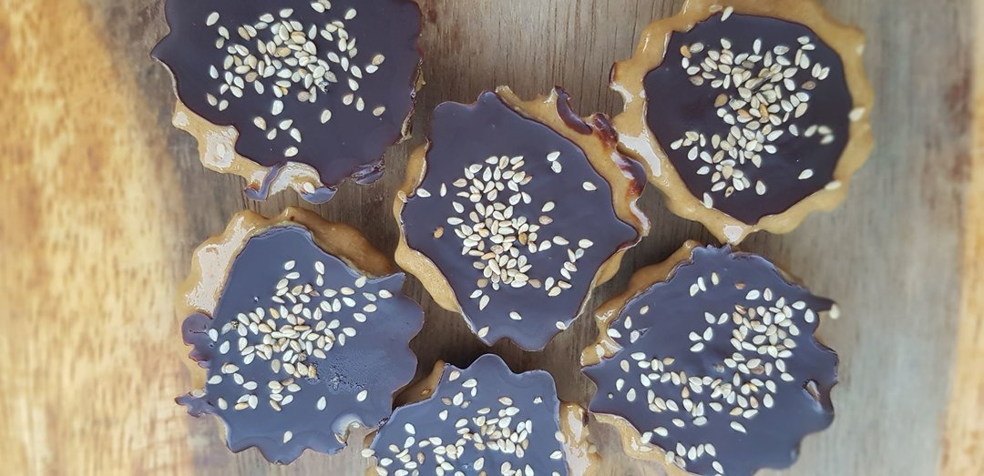 Babeczki czekoladowe z tahiną